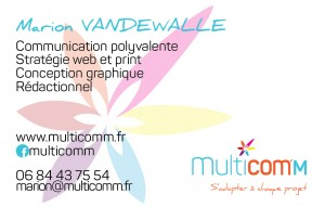 carte communication verso