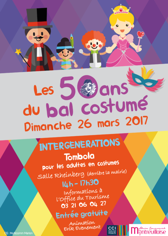affiches multicomm bal costumé