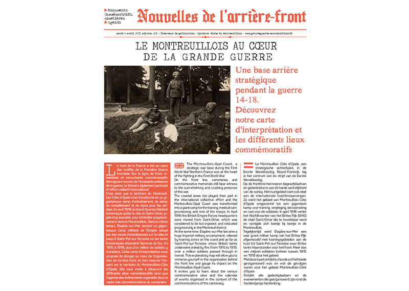 brochure journal grande guerre